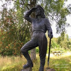 Women's Timber Corp Statue