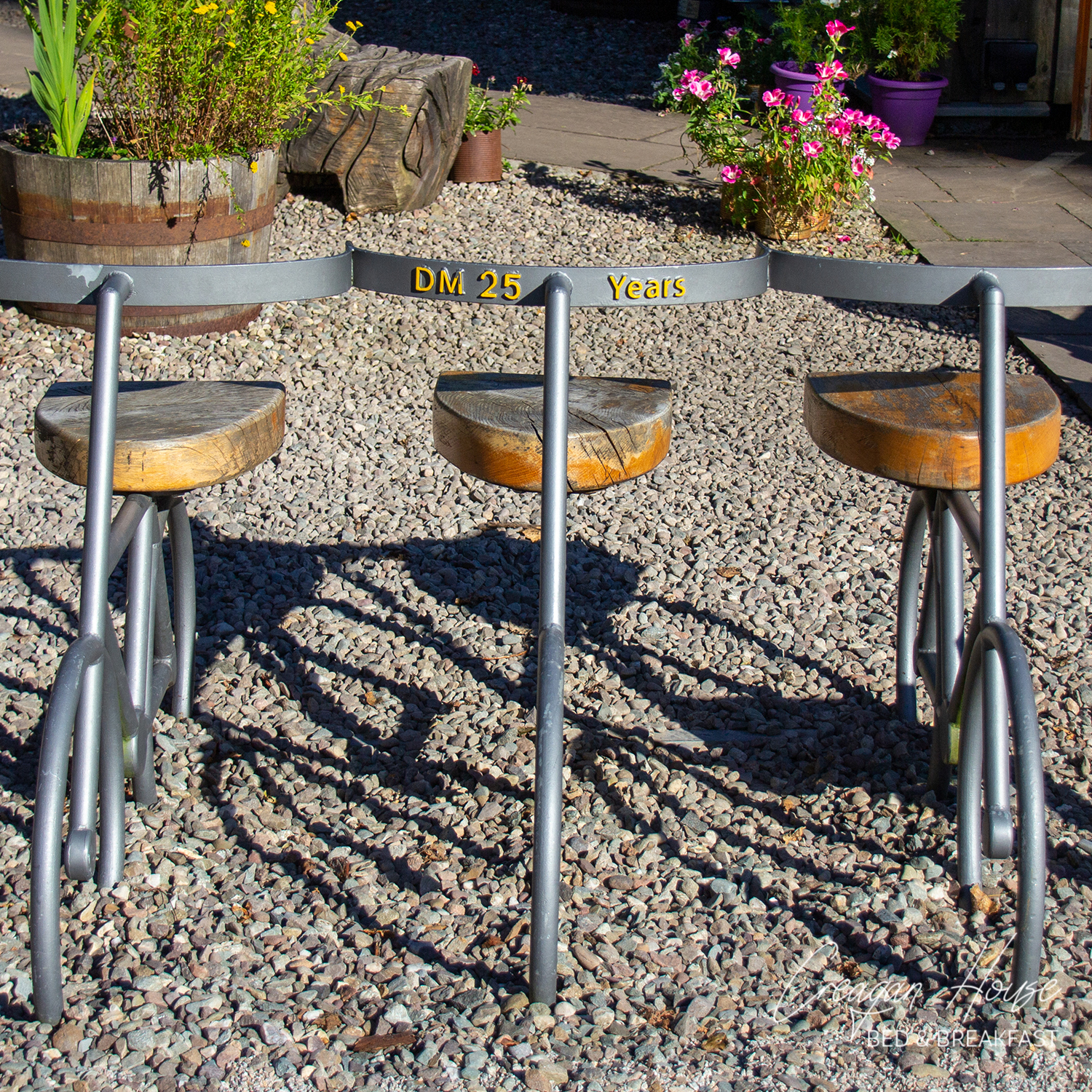 Ride Out Seats - Jeremy Cunningham - Strathyre