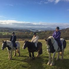 Pony Trekking at Castle Rednock